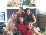 Kathy Ramsey, Alison Abernathy, Melissa Rutherford, Caroline Campbell, Cheri Leavy and Cullen Osteen