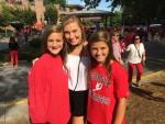 Kaylee Snead, Summer Vore and Laney Snead