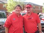 Paul Hynson and Brad Johnson