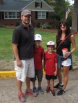 Scott, Walker, Jack and Jennifer Duvall