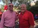 Steve Middlebrooks and Billy Lyon