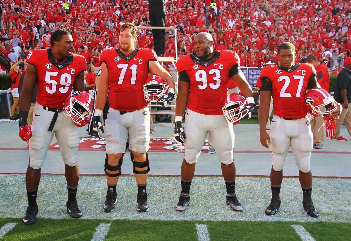 Captains Jenkins, Theus, Mayes & Chubb