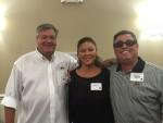 Henry Goodyear, Kristina Edwards and Bodine Sinyard