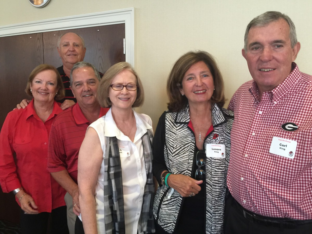 Susan and Larry Gaither, Dean and Sandy Welsh, Lenore and Carl King