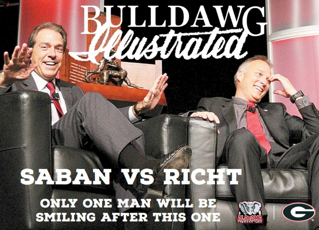Saban vs Richt - Only one man will be smiling after this one