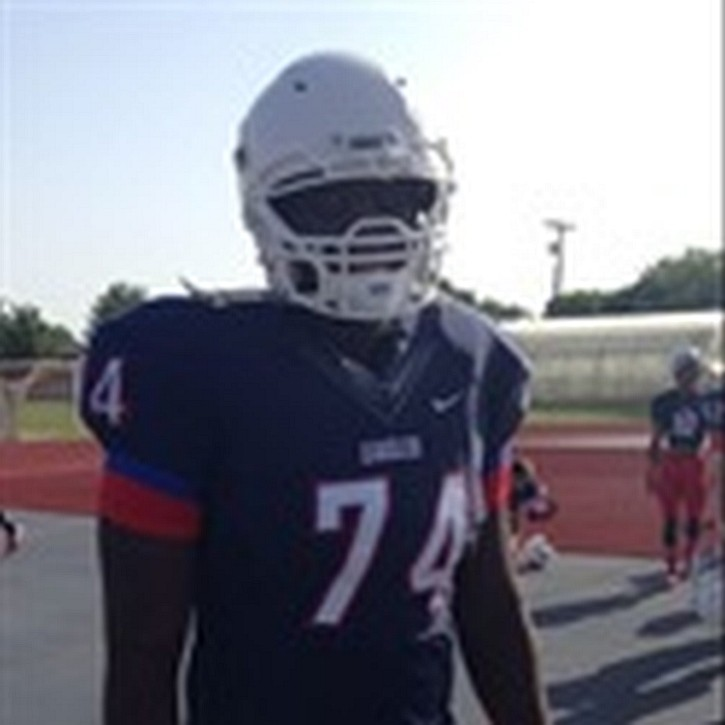Gregory Little - Class of 2016 OT - Allen HS, Texas  (Photo courtesy of Hudl)