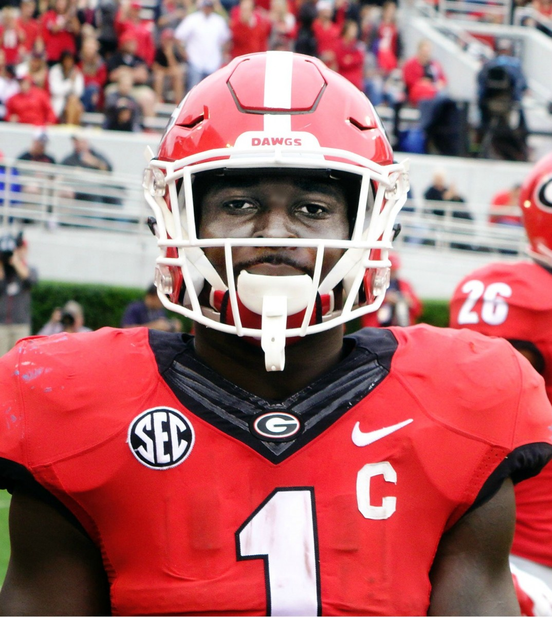 Sony Michel Photo: Greg Poole/Bulldawg Illustrated