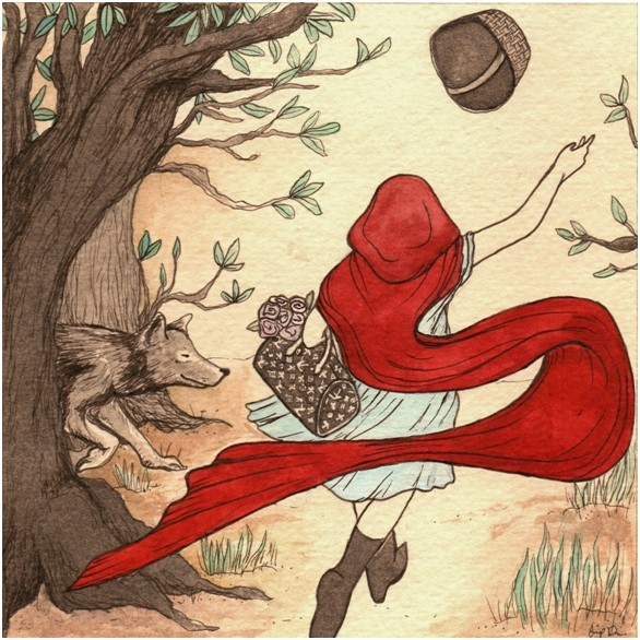 Fairy Tale Friday (Art by Jess Dunlap)