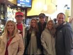 Danielle and Doug Nipper, Jen and Mike Murray and Lindsey and Garrett Baskind