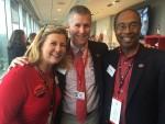 Rachel and Kelly Kerner with Judge Steve Jones
