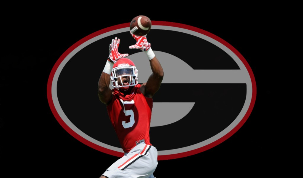 UGA WR - No.5 - Terry Godwin (Edit by Bob Miller)
