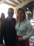 Alison Pyles and Jill Bennett