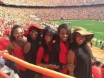 Nicole Baker, Dionne Aikhionbare, Dacia King, Vanesha Waiters and Enya Spicer