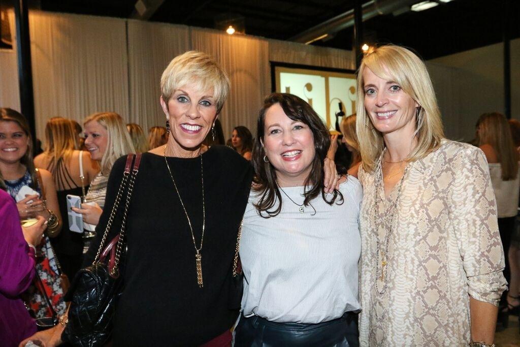Suzanne Yoculan Leebern, Cheri Leavy and Lacy Sinkwich