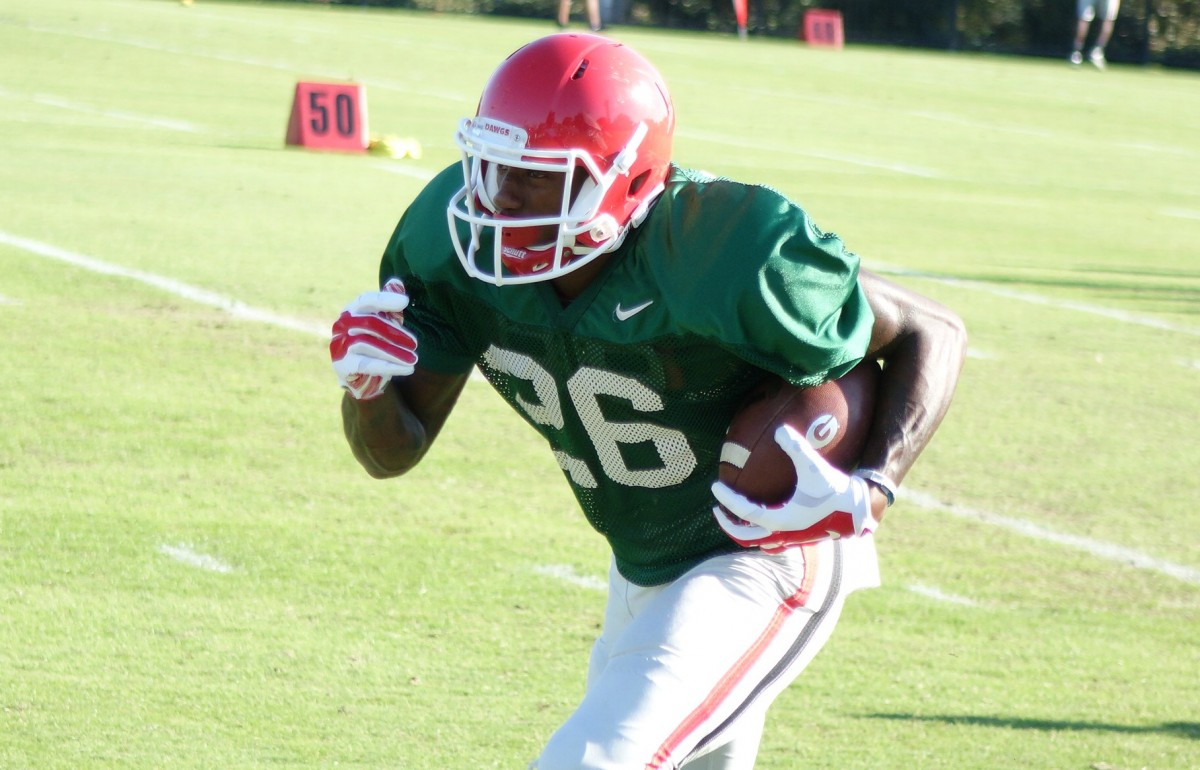 Malcolm Mitchell executes drill