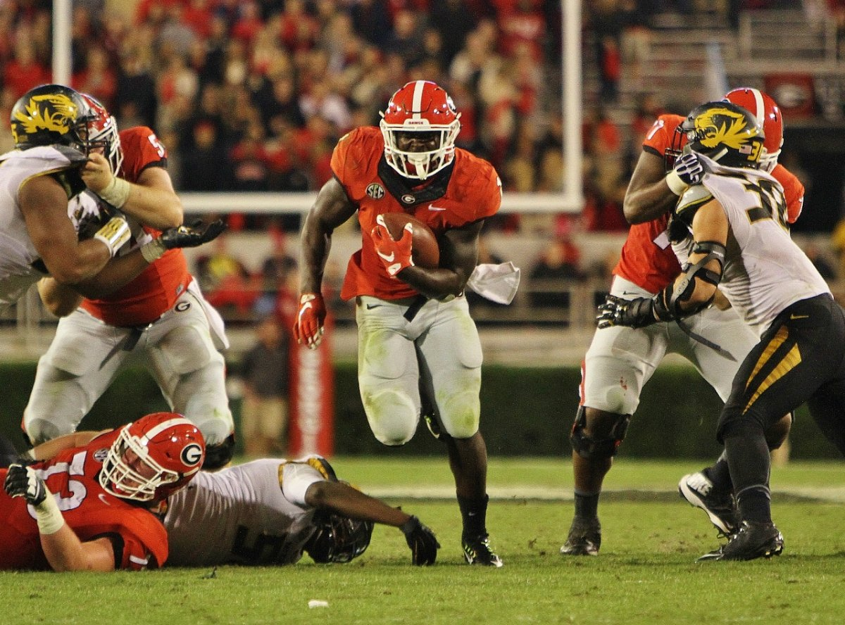 Sony Michel late Q4 run