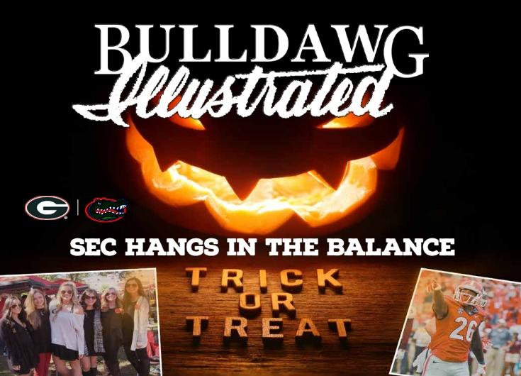 Bulldawg Illustrated Issue 9 cover art (Cover Design by Boyd Martin, Concept by Vance Leavy)