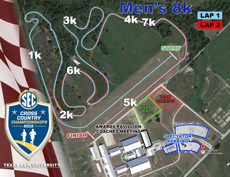 SEC Cross Country – Men's Course