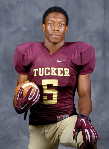 Akeam Peters – 2016 Athlete -Safety – Tucker HS, Tucker, GA (Photo courtesy of TuckerTigersFootball.com)