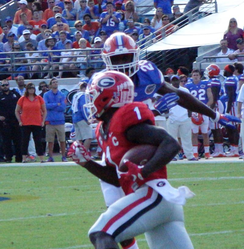 Sony Michel First half - Georgia-Florida 31-Oct-2015 (Photo by Bulldawg illustrated's Greg Poole)