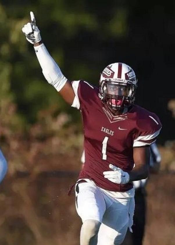 Javon Wims – 2016 JUCO WR – Hinds C.C.  (Photo courtesy of Hinds C.C.)