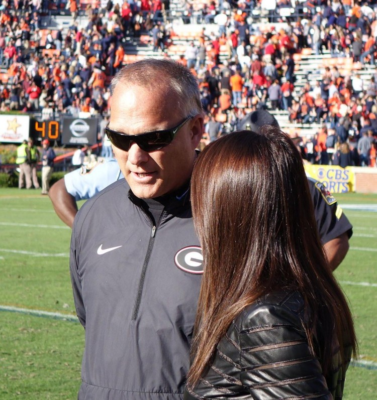 Mark Richt's postgame TV interview