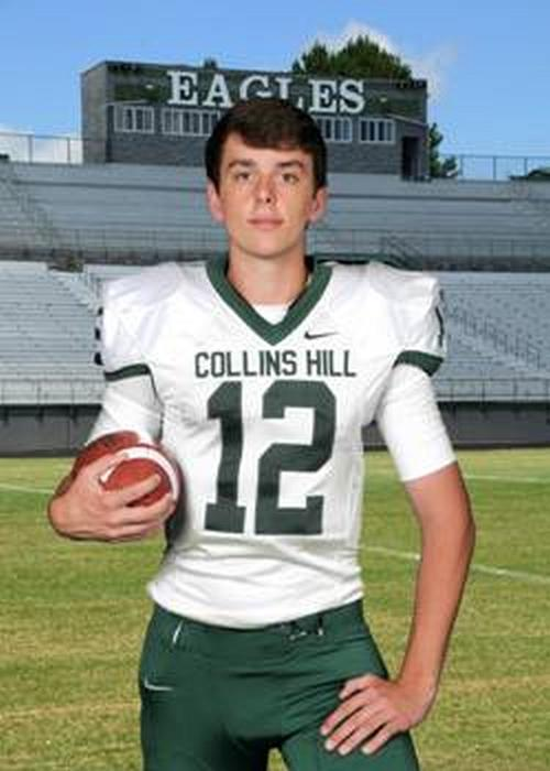 Drew Dinsmore – 2017 QB – Collins Hill HS, Suwanee, GA (Photo courtesy of www.collinshillfootball.com)