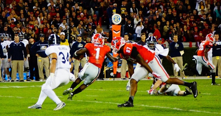 Sony Michel - 1st half GaSouthern game 21-Nov-2015 (2)