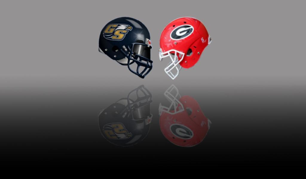 GA Southern vs. Georgia (Graphic edit by Bob Miller)
