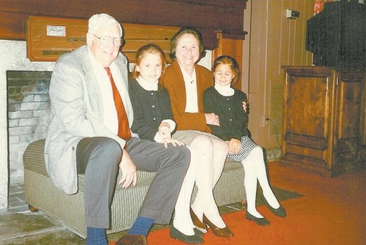Dena and Jack Davis with granddaughters Sara and Molly Lloyd
