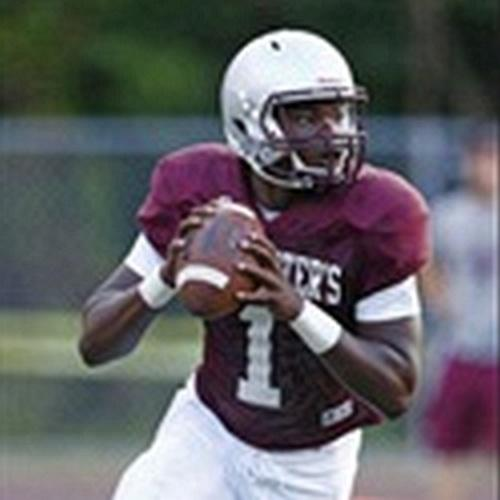 Johnathan Lewis – 2017 dual threat QB – St. Peter's Prep, Jersey City, NJ (Photo courtesy of Hudl)