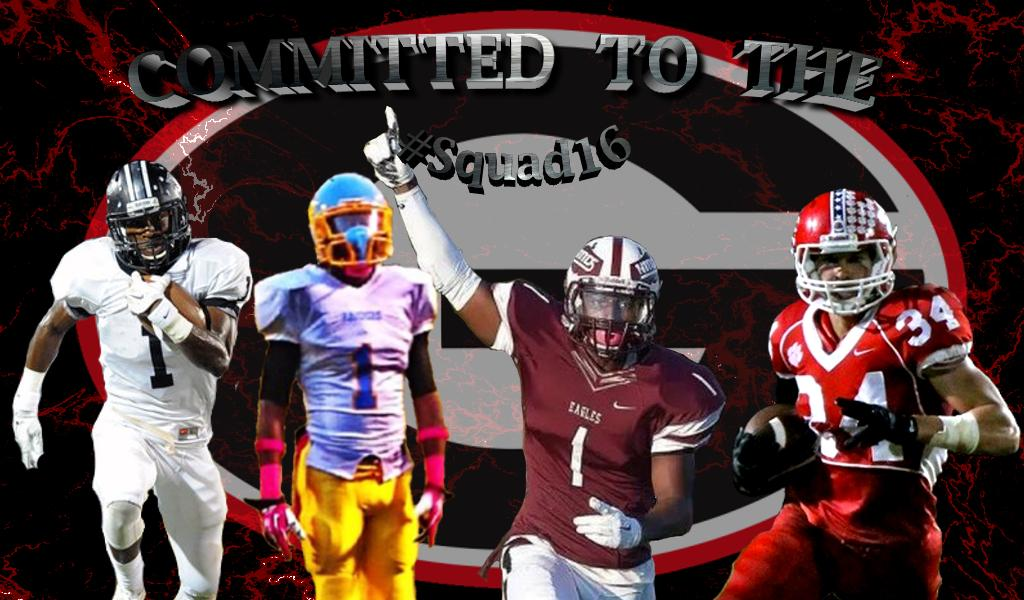 Left to right: Darion Anderson, Randrecous Davis, Javon Wims, Charlie Woerner (Edit by Bob Miller)