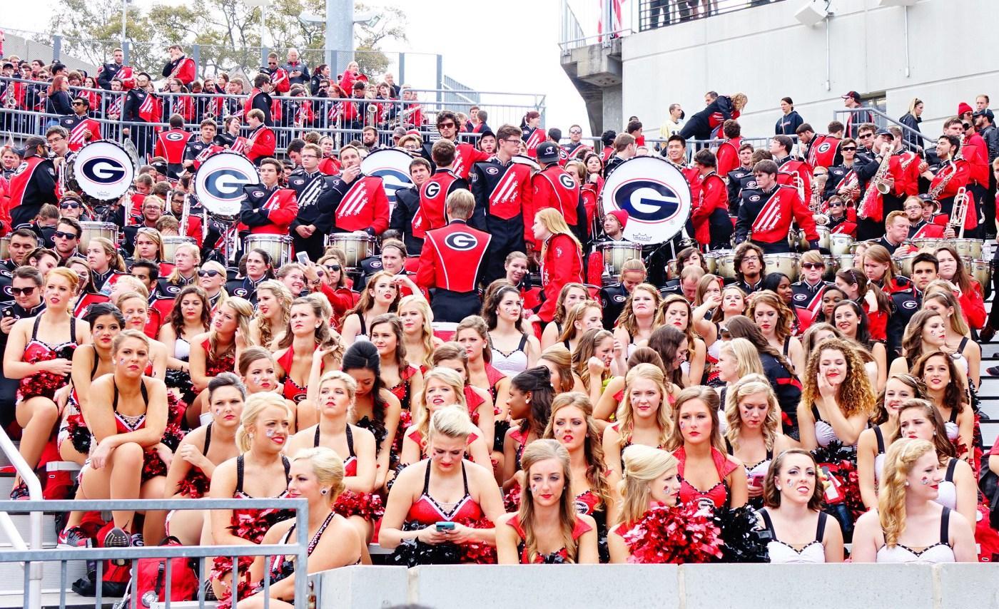 Georgia vs. Tech at Bobby Dodd Stadium on 28-Nov-2015 (Photo by Bulldawg Illustrated's Greg Poole)