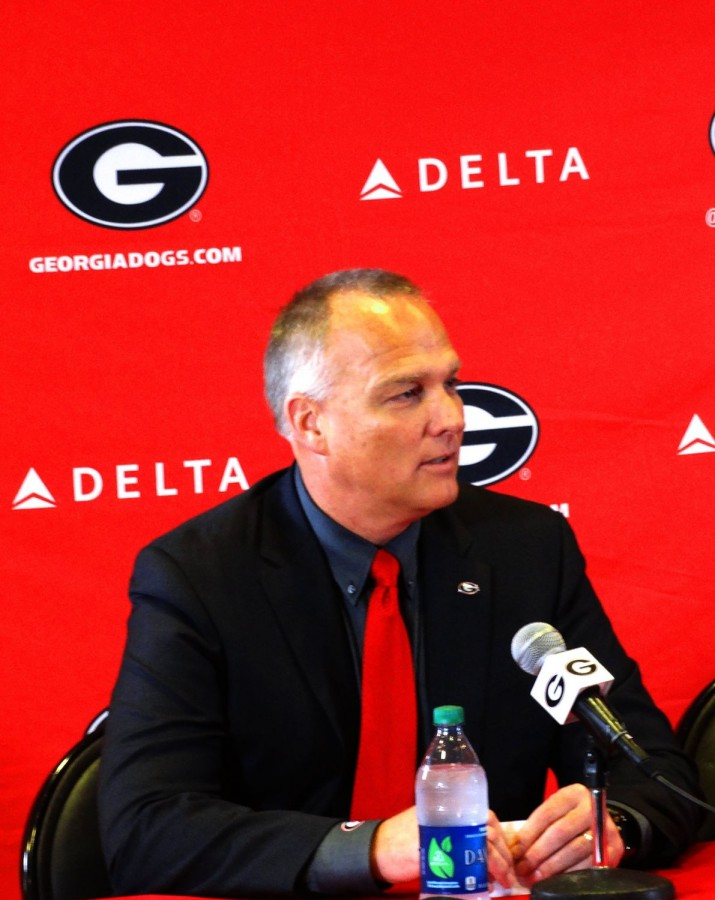 Mark Richt 30-Nov-15 Photo: Greg Poole/Bulldawg Illustrated