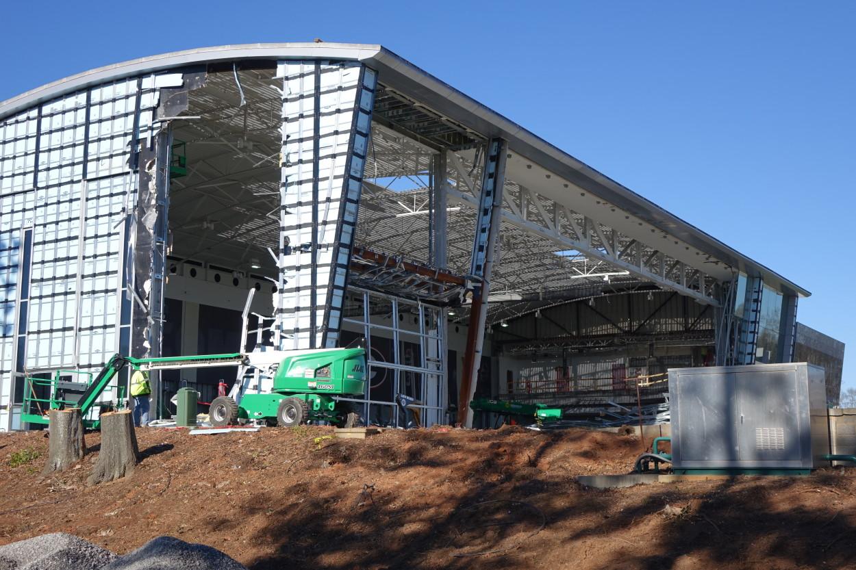 Nalley Center demolition