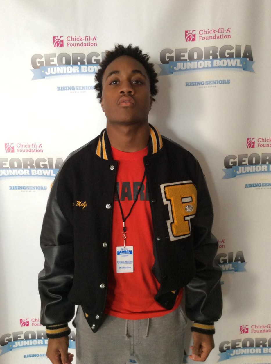 Tyrique McGhee - 2016 CB - Peach County HS, Fort Valley, GA (Photo courtesy of Rising Seniors on Twitter)