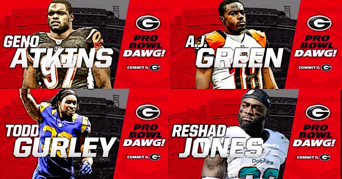photos and graphics courtesy of Georgia Football @FootballUGA on Twitter (edit by Bob Miller)