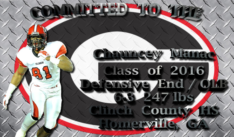 Chauncey Manac - Committed To The G edit 002 by Bob Miller