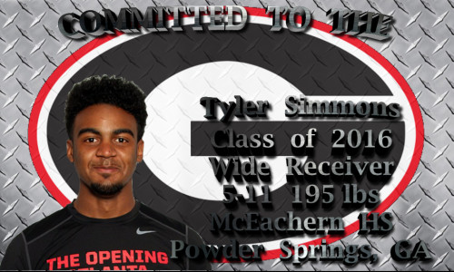 Tyler Simmons - Committed To The G - NSD2016 - edit 002 template by Bob Miller