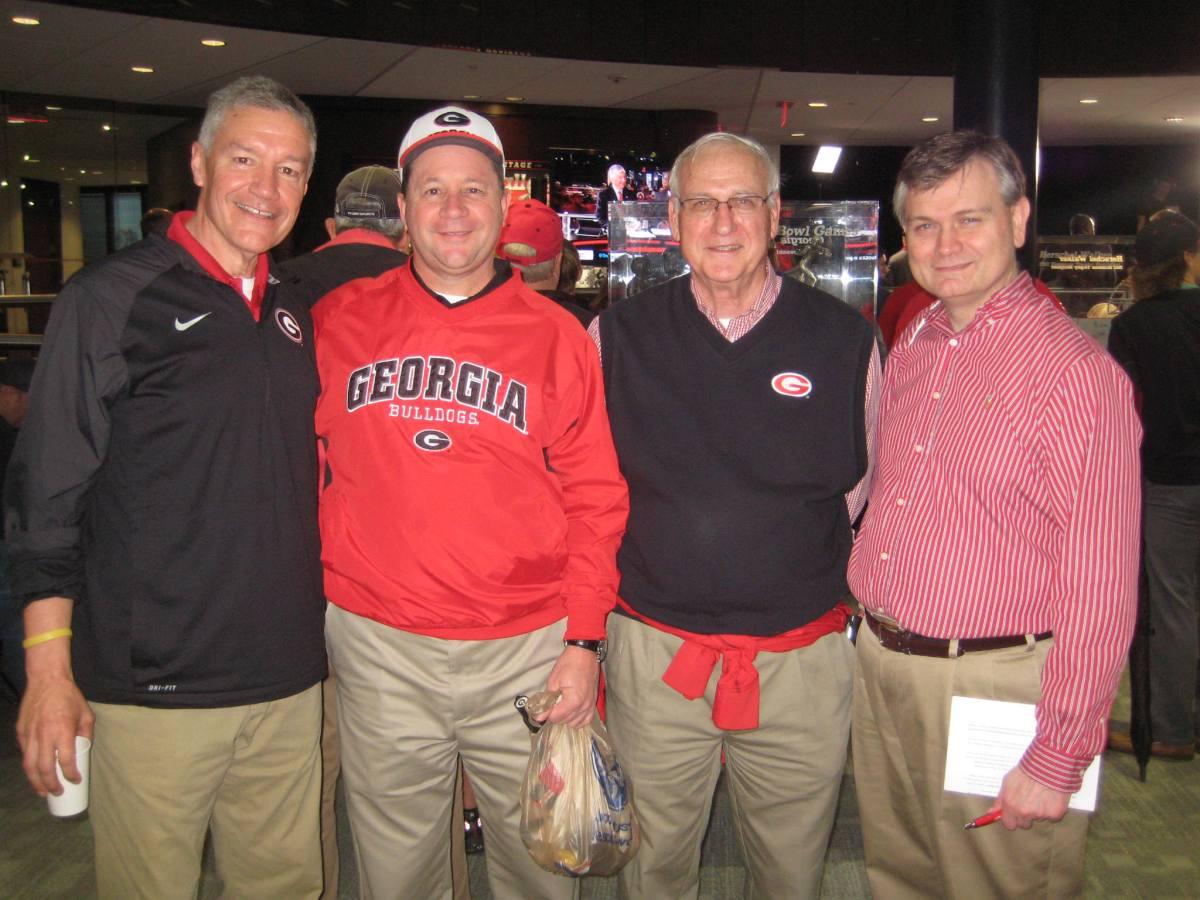 Greg Morris, Kim Wiggins, H.R. Shepherd and Dennis Montgomery (Photo by Vance Leavy)