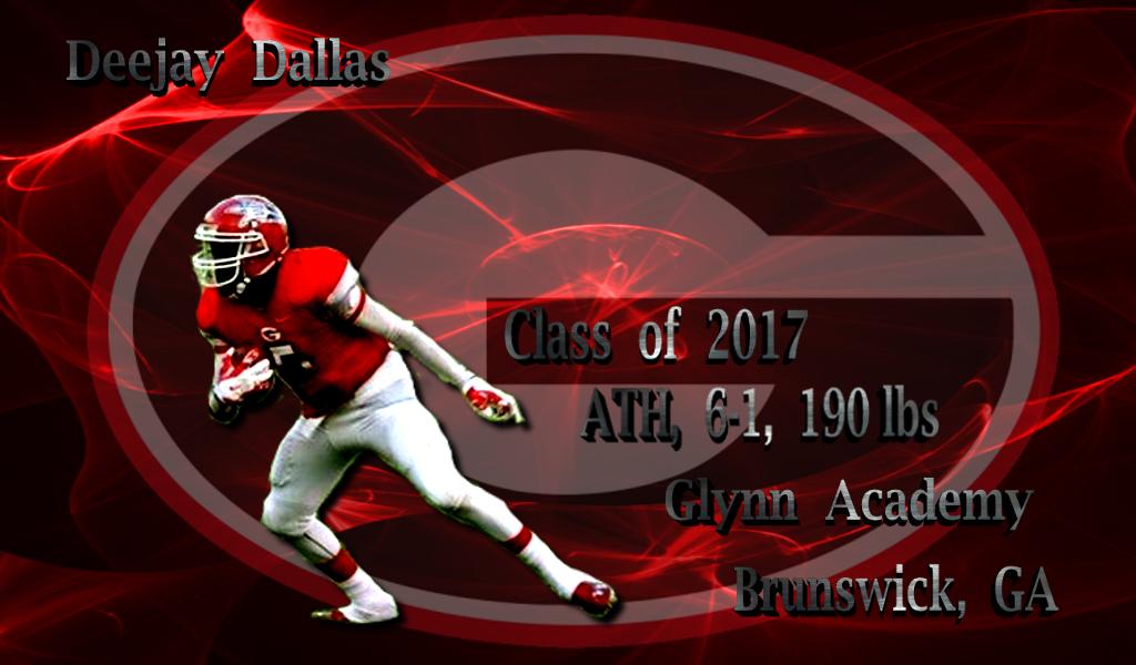 Deejay Dallas - 2017 athlete - Glynn Academy - edit by Bob Miller