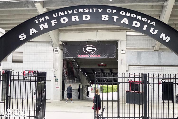 Sanford Stadium Gate 10