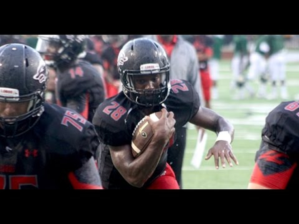 Toneil Carter - Class of 2017 RB (photo - screen capture of Youtube video clip)