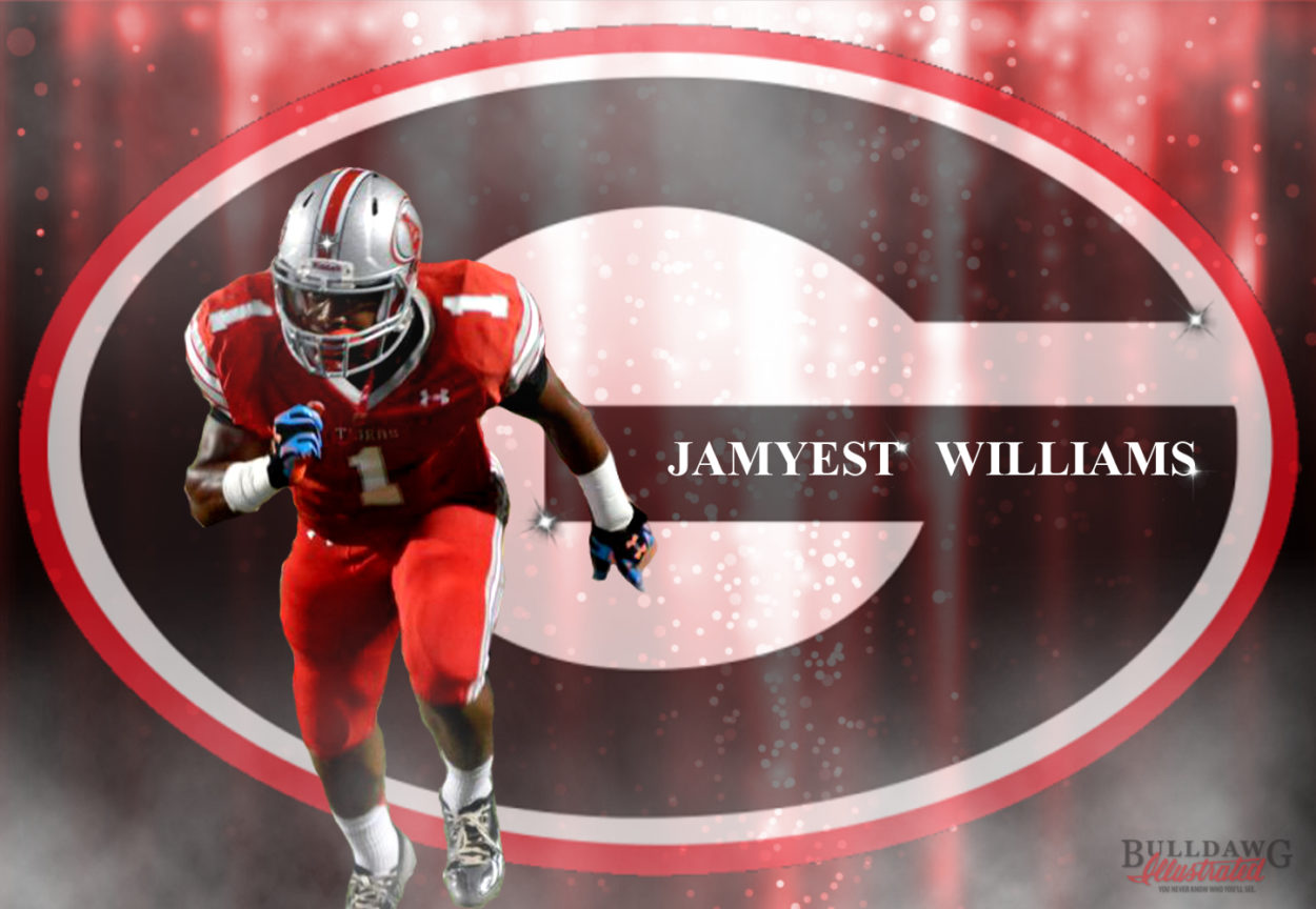 Jamyest Williams edit by Bob Miller