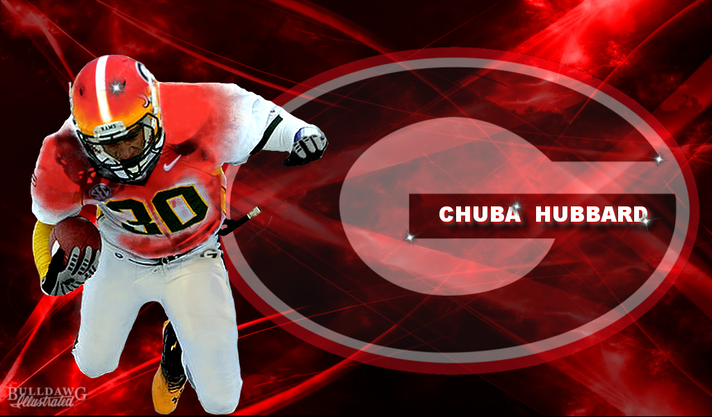 Chuba Hubbard - Georgia edit by Bob Miller