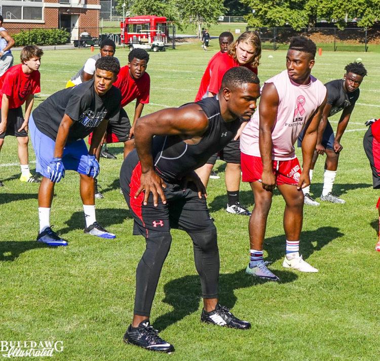 Dameon Pierce - Class of 2018 running back prospect - Bainbridge, GA