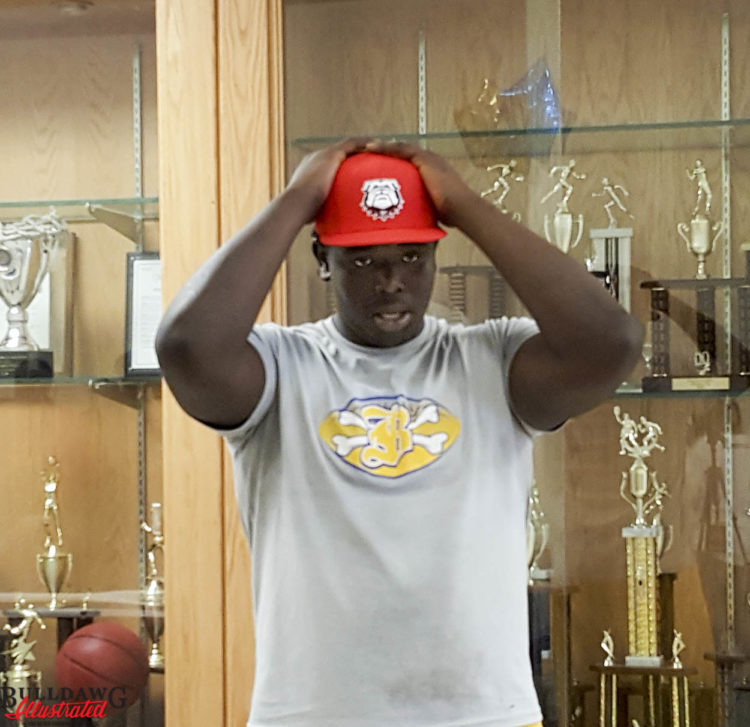 D'Antne Demery at his announcement