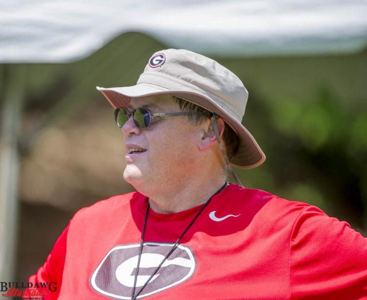 Offensive coordinator Jim Chaney