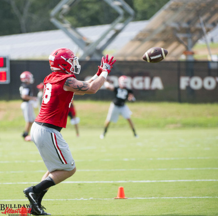Isaac Nauta with the catch