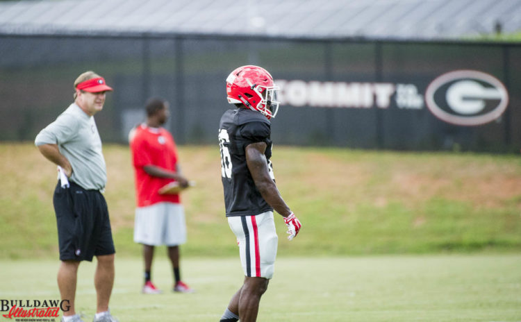 Isaiah McKenzie was in a no-contact jersey